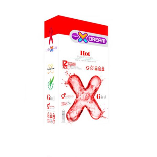 کاندوم 6 در1 hot ایکس دریم