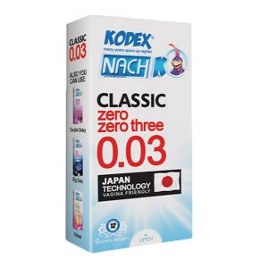 کاندوم کلاسیک ۰.۰۳ ناچ کدکس