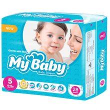 پوشک نوزاد مای بی بی سایز ۵