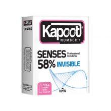 کاندوم نازک senses 58% کاپوت مینی
