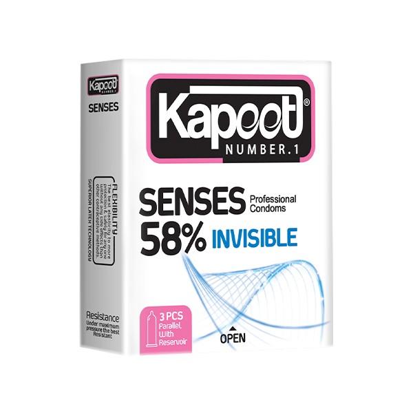 کاندوم senses 58% کاپوت مینی