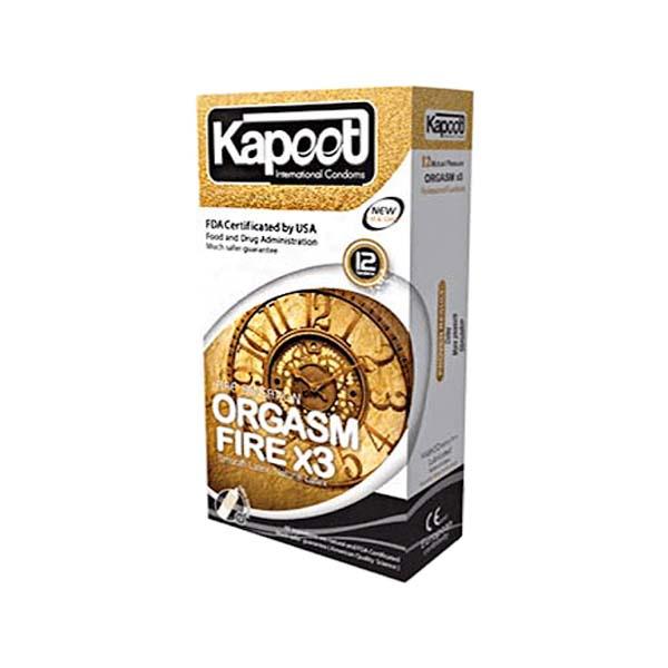 کاندوم Orgasm Fire 3k کاپوت