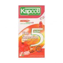 کاندوم fire sensation کاپوت