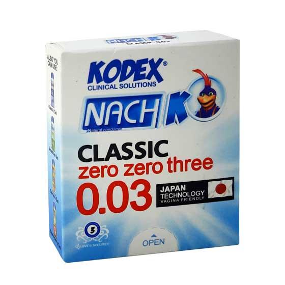 کاندوم کلاسیک ۰.۰۳ ناچ کدکس مینی