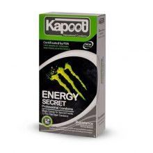 کاندوم ضد حساسیت secret energy کاپوت