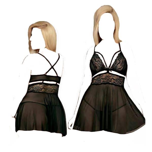 لباس خواب فانتزی لاله سیاه
