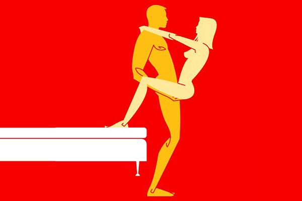 پوزیشن جنسی آسانسور
