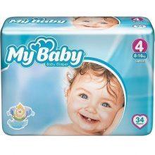 پوشک نوزاد مای بی بی سایز ۴